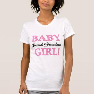 Proud Grandma Baby Girl Tshirts and Gifts