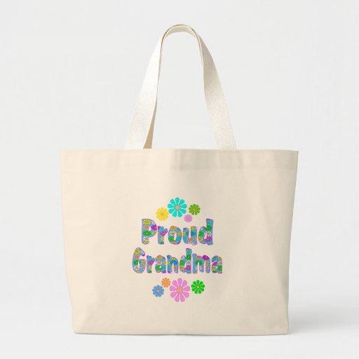 Proud Grandma Canvas Bags