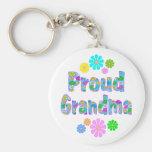 Proud Grandma Key Chain
