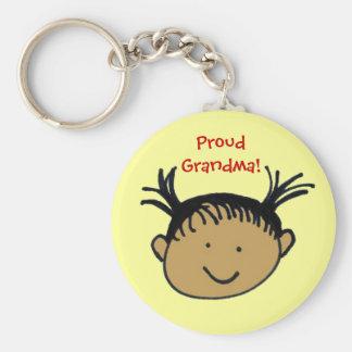 Proud Grandma! Key Chain