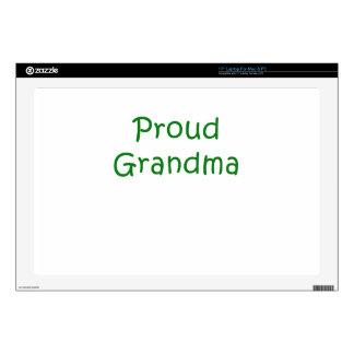 Proud Grandma Laptop Decal