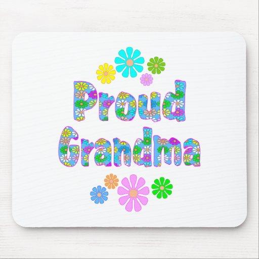 Proud Grandma Mouse Mats