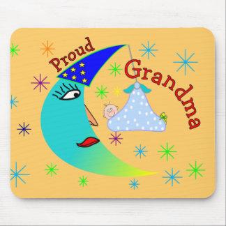 Proud Grandma New Baby Boy Mouse Pad