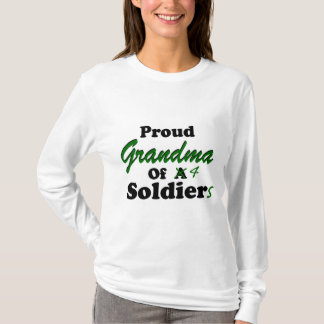 Proud Grandma of 4 Soldiers T-Shirt