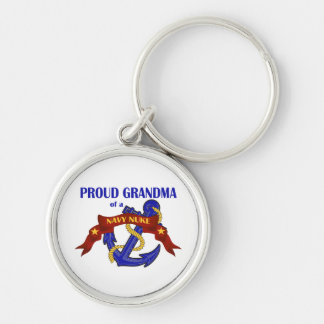 Proud Grandma of a Navy Nuke Key Chain