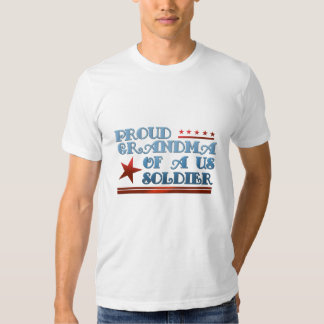 Proud Grandma of a US Soldier T Shirt