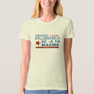 Proud Grandma of a US Soldier Tee Shirt