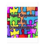 Proud Grandma Of My Granddaughter! Postcard