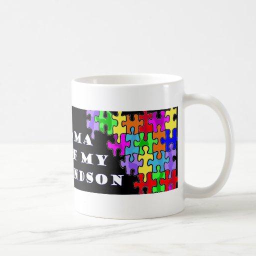 Proud Grandma Of My Grandson Coffee Mug