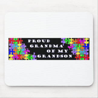 Proud Grandma Of My Grandson Mouse Pad