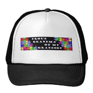 Proud Grandma Of My Grandson Trucker Hat
