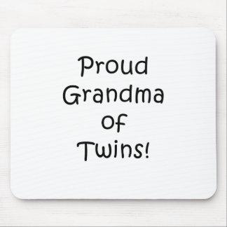 Proud Grandma of Twins Mouse Pad