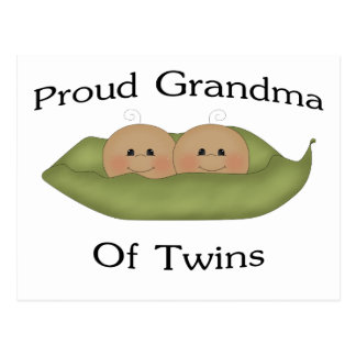 Proud Grandma Of Twins Post Cards