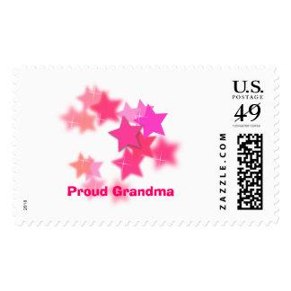 Proud Grandma Postage Stamps