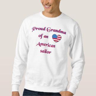 Proud-Grandma-Sailor-Navy-A Pullover Sweatshirt