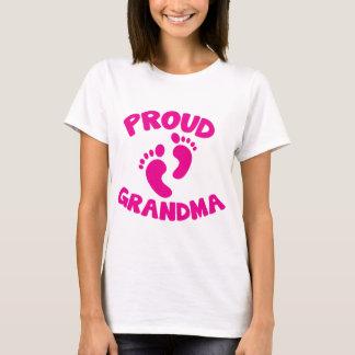 Proud Grandma with cute feet T-Shirt