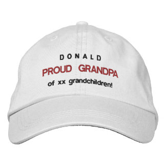 PROUD GRANDPA Adjustable Hat V13
