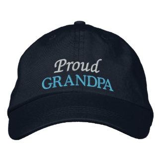 Proud Grandpa Embroidered Cap/Hat Baseball Cap