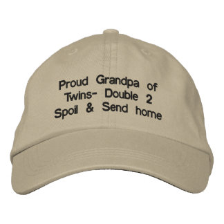 Proud Grandpa Hat