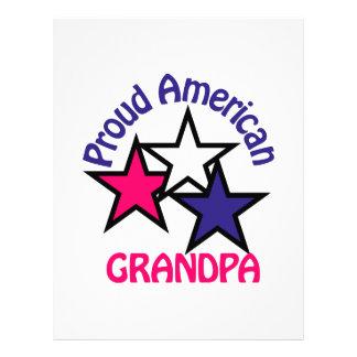 Proud Grandpa Letterhead