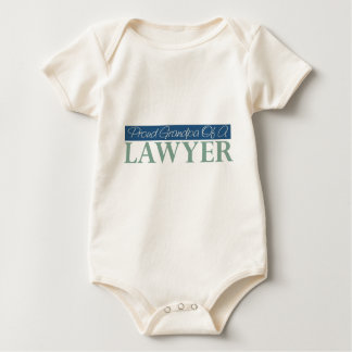 Proud Grandpa Of A Lawyer Baby Bodysuit
