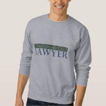 Proud Grandpa Of A Lawyer (Green) Sweatshirt