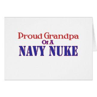 Proud Grandpa of a Navy Nuke Card