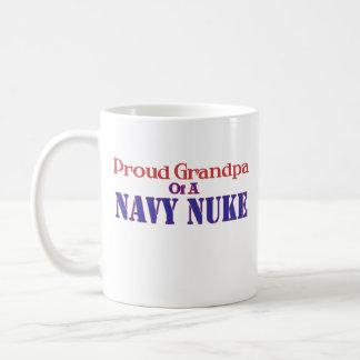 Proud Grandpa of a Navy Nuke Coffee Mug