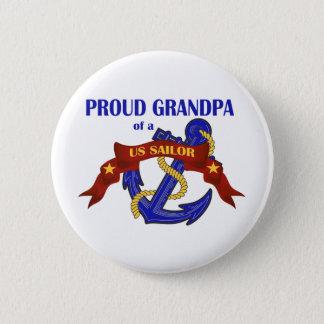 Proud Grandpa of a US Sailor Button
