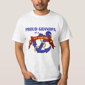 Proud Grandpa of a US Sailor T-Shirt