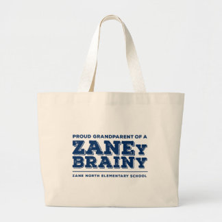 Proud Grandparent of a Zaney Brainy Jumbo Tote Tote Bag