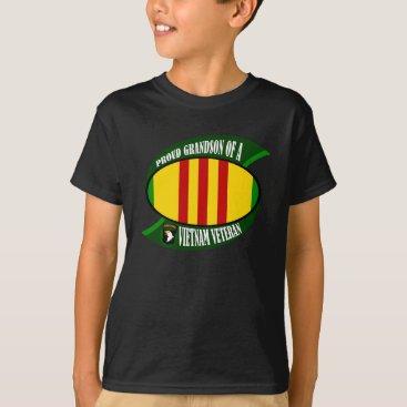 militaryvetshop Proud Grandson T-Shirt