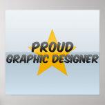 Proud Graphic Designer Poster