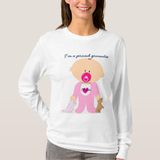 Proud grauntie & personalize child's name on tee. T-Shirt