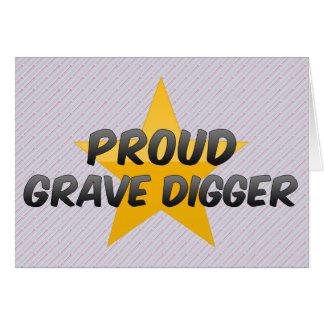 Proud Grave Digger Card