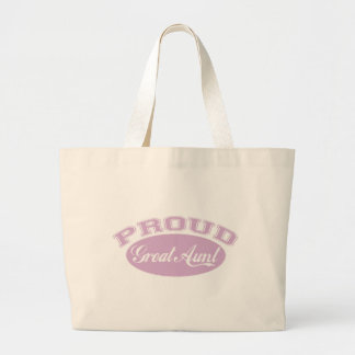 Proud Great Aunt Tote Bags