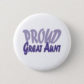 Proud Great Aunt Pinback Button