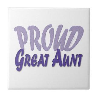 Proud Great Aunt Tile