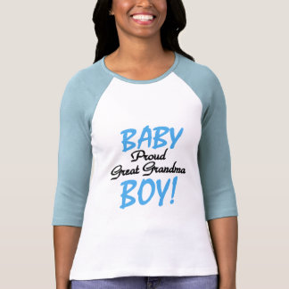 Proud Great Grandma Baby Boy Tshirts and Gifts