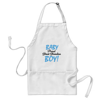 Proud Great Grandma Baby Boy Tshirts and Gifts Adult Apron