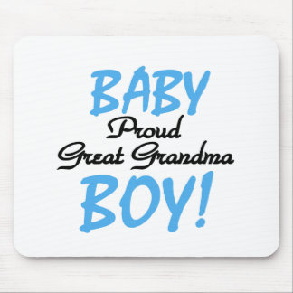 Proud Great Grandma Baby Boy Tshirts and Gifts Mouse Pad