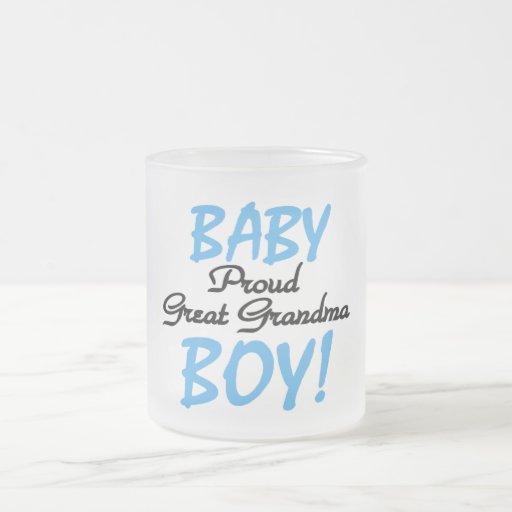 Proud Great Grandma Baby Boy Tshirts and Gifts Mug
