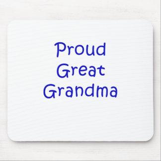Proud Great Grandma Mouse Pad