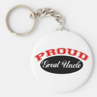 Proud Great Uncle Keychain