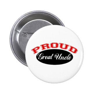 Proud Great Uncle Pinback Button