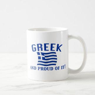 Proud Greek Coffee Mug