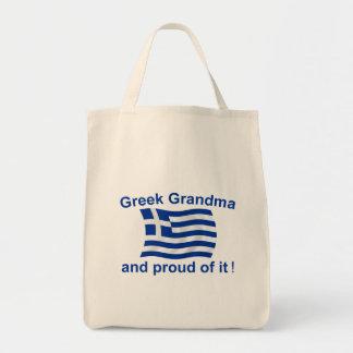 Proud Greek Grandma Tote Bag