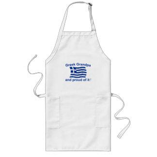 Proud Greek Grandpa Long Apron