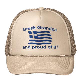Proud Greek Grandpa Trucker Hat