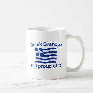 Proud Greek Grandpa Classic White Coffee Mug